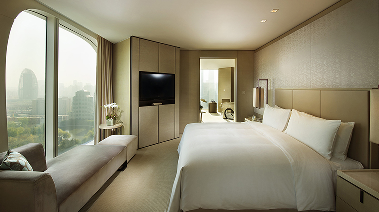 Conrad Beijing Executive Suite Bedroom