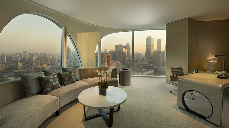 Conrad Beijing Executive Suite Living Room