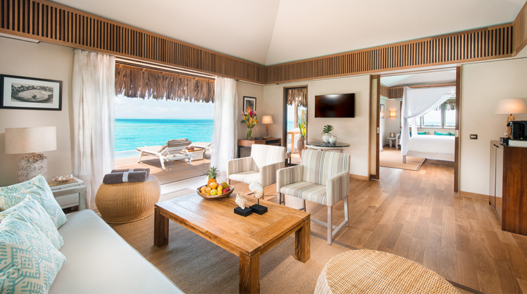 conrad bora bora nui royal suite living area