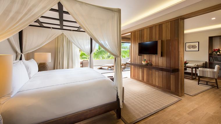 conrad bora bora nui standard bedroom