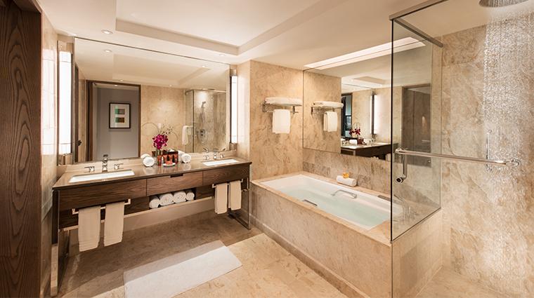conrad centennial singapore centennial suite bathroom