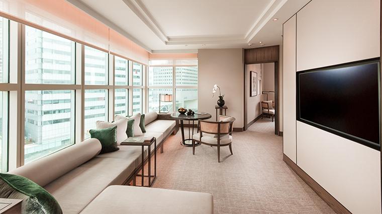 conrad centennial singapore centennial suite living room