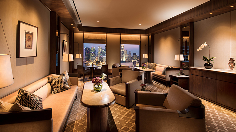 conrad centennial singapore lounge on level 31 marina room