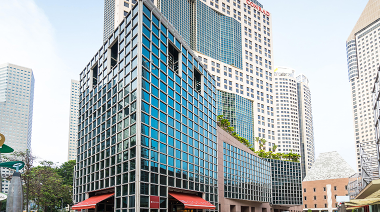 conrad centennial singapore oscars exterior