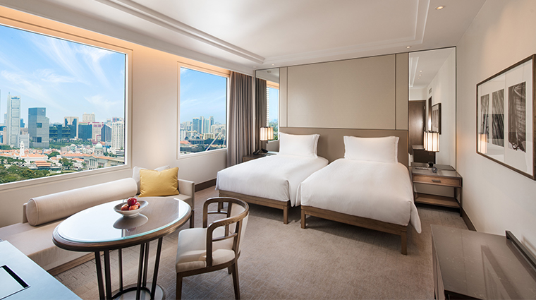 conrad centennial singapore twin room