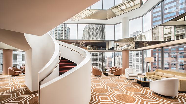 conrad chicago atrium
