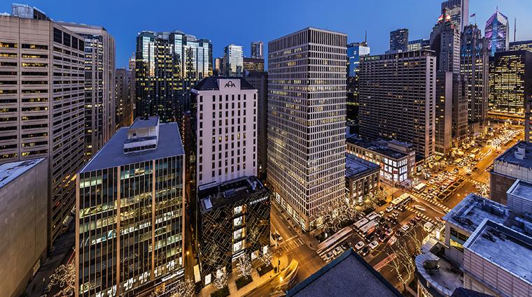 conrad chicago exterior view