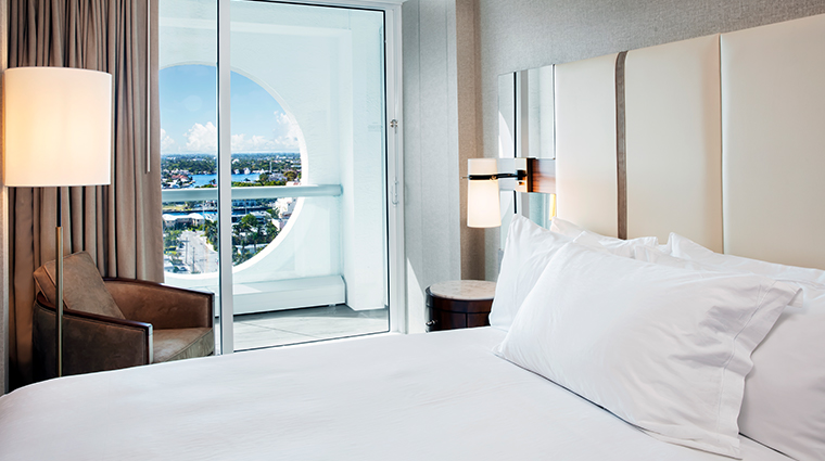 conrad fort lauderdale beach bedroom circle city view