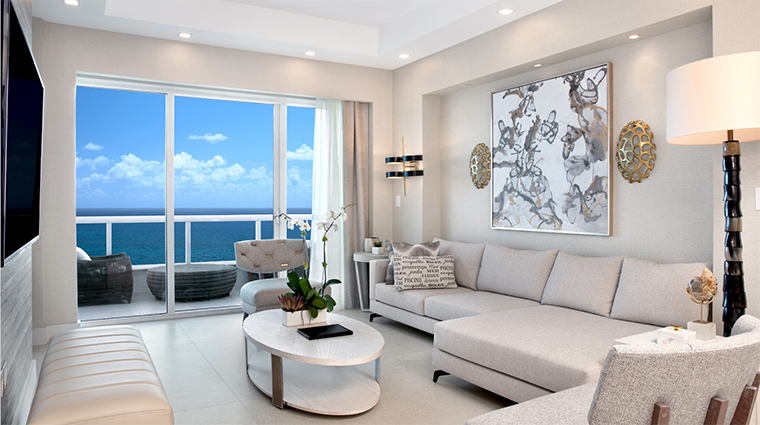 conrad fort lauderdale beach new penthouse living room