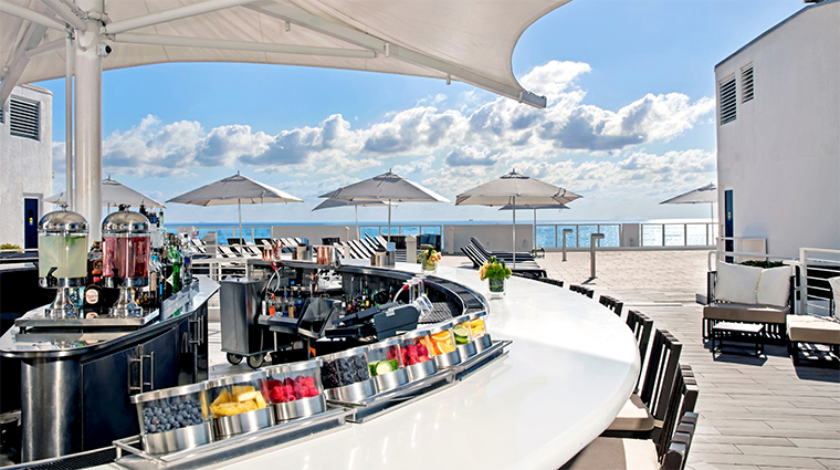 conrad fort lauderdale beach new spinnaker pool bar