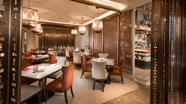 conrad guangzhou Sense dining room