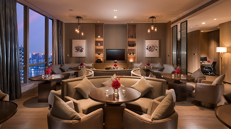 conrad guangzhou executive lounge