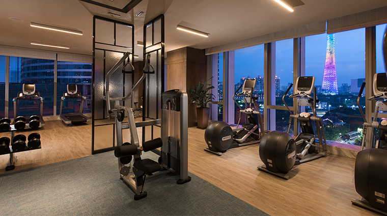 conrad guangzhou fitness center