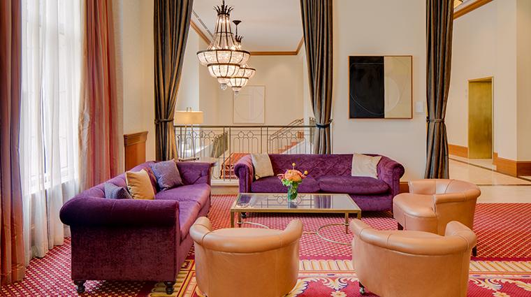 conrad indianapolis purple sofa