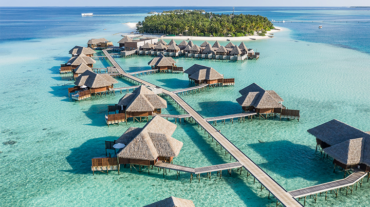 conrad maldives rangali island finolhu the spa retreat aerial