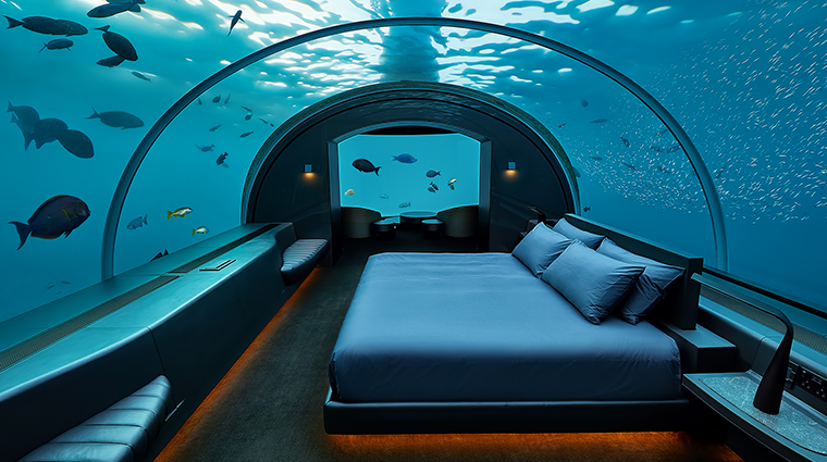 conrad maldives rangali island the muraka undersea bedroom
