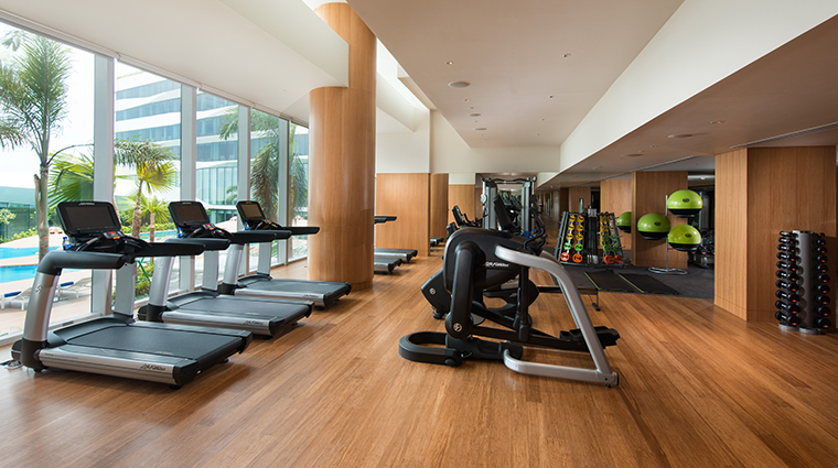 conrad manila fitness center
