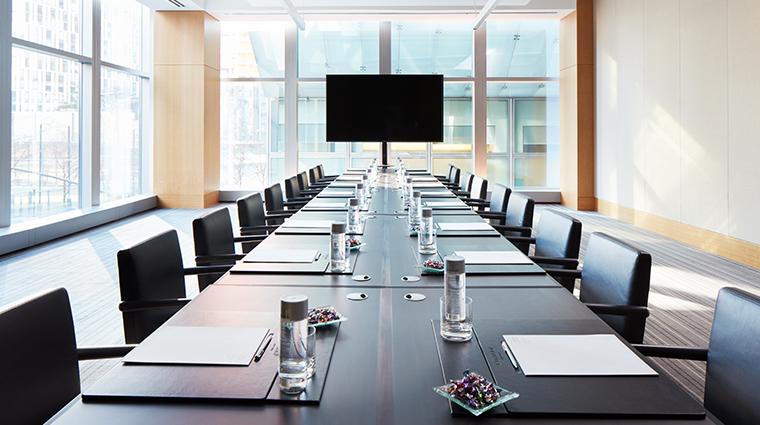 conrad new york Murray suite boardroom