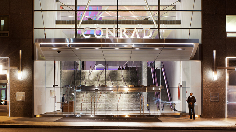 conrad new york exterior