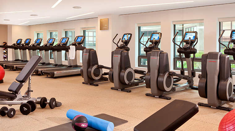 conrad new york gym