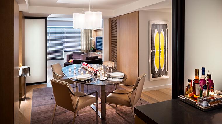 conrad new york suite living room