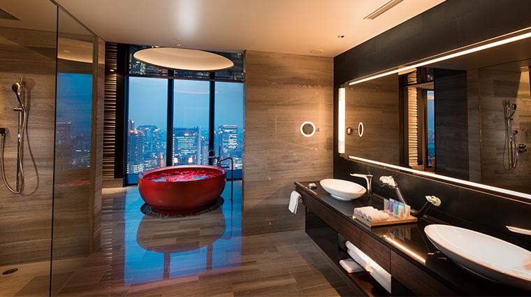 conrad osaka conrad suite bathroom horizontal