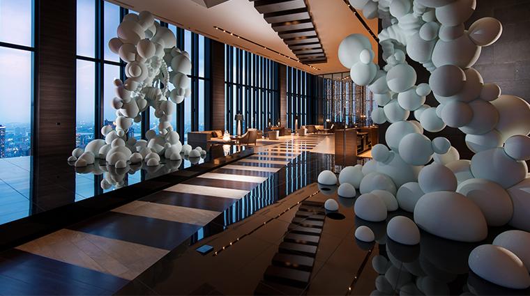 conrad osaka lobby entrance