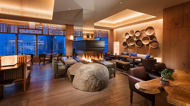 conrad tokyo executive lounge city view