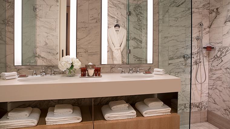 conrad washington dc deluxe king bathroom