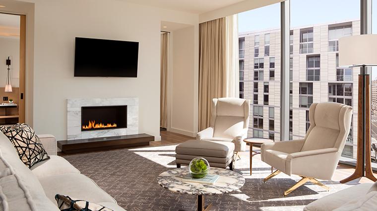 conrad washington dc diplomat suite living room