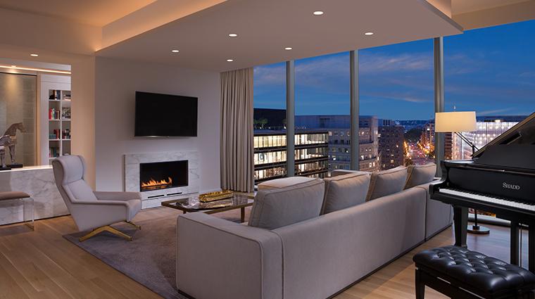conrad washington dc presidential living room