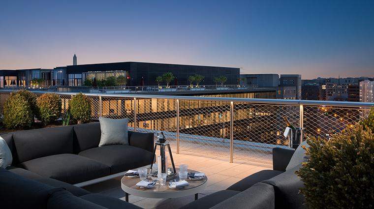 conrad washington dc rooftop seating