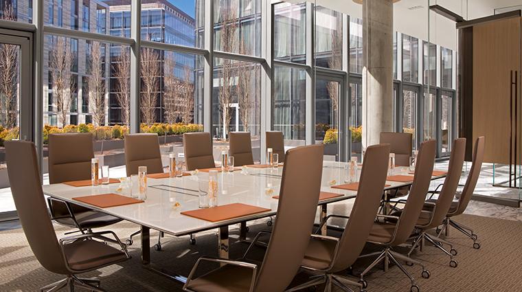 conrad washington dc terrace boardroom