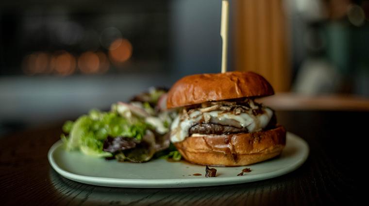 conversation burger