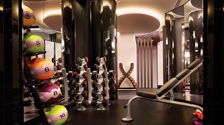 corinthia hotel london ESPA life gym