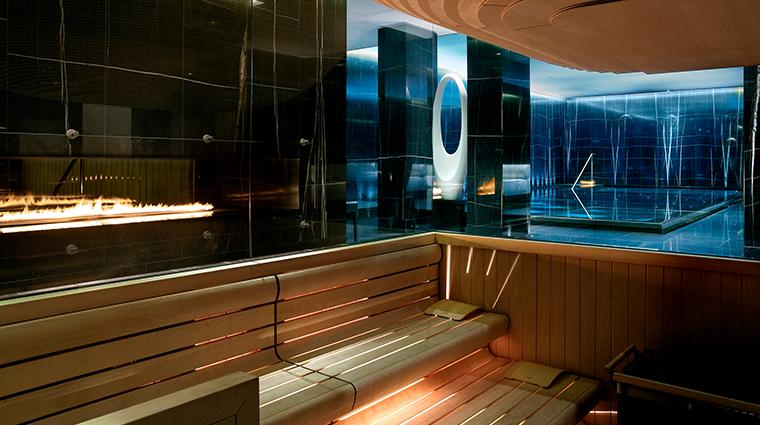 corinthia hotel london ESPA life sauna