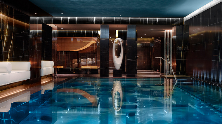corinthia hotel london ESPA life spa pool