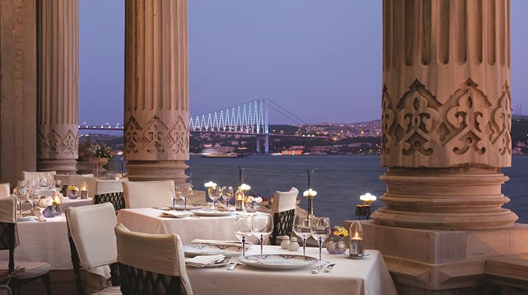 cragan palace kempinski istanbul Tugra restaurant