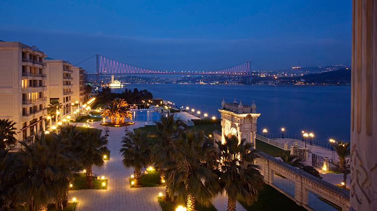 cragan palace kempinski istanbul bosphorous bridge