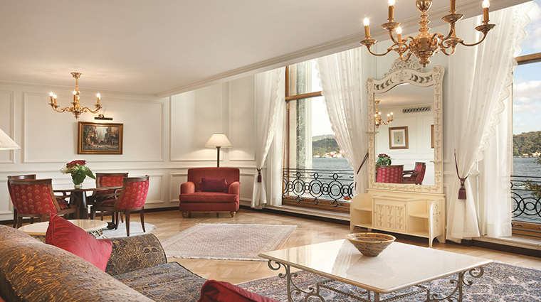 cragan palace kempinski istanbul bosphorous view oalace suite