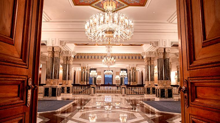 cragan palace kempinski istanbul entrance