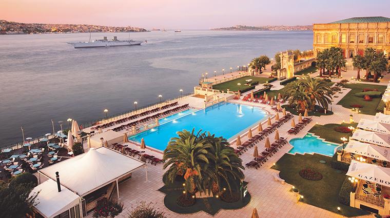 cragan palace kempinski istanbul exterior