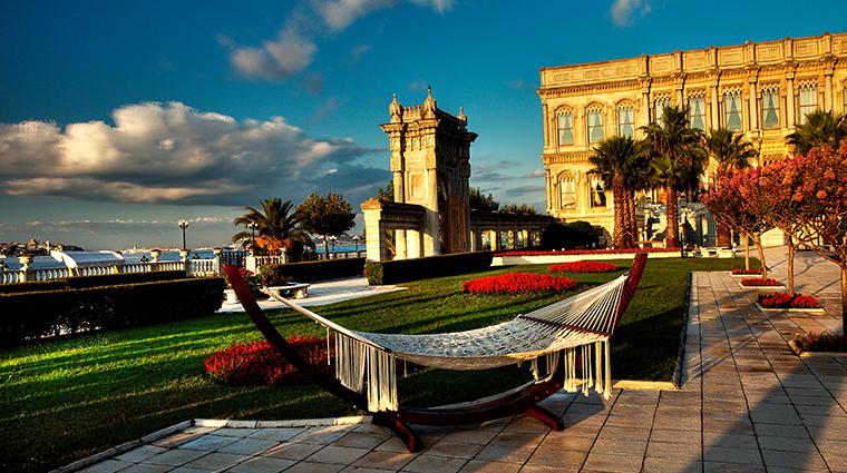 cragan palace kempinski istanbul garden
