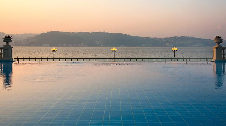 cragan palace kempinski istanbul infinity pool