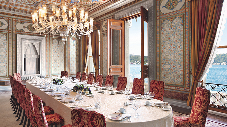 cragan palace kempinski istanbul ottoman meeting room