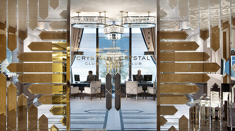 crown towers melbourne Crystal Club Lounge Entrance