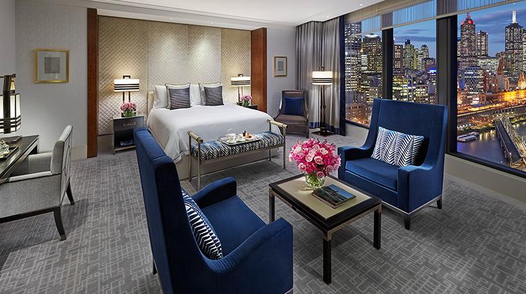 crown towers melbourne deluxe villa bedroom