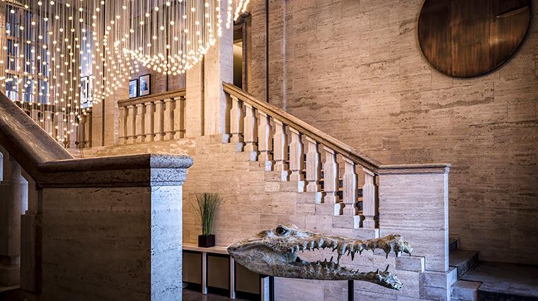 Das Stue lobby stairs