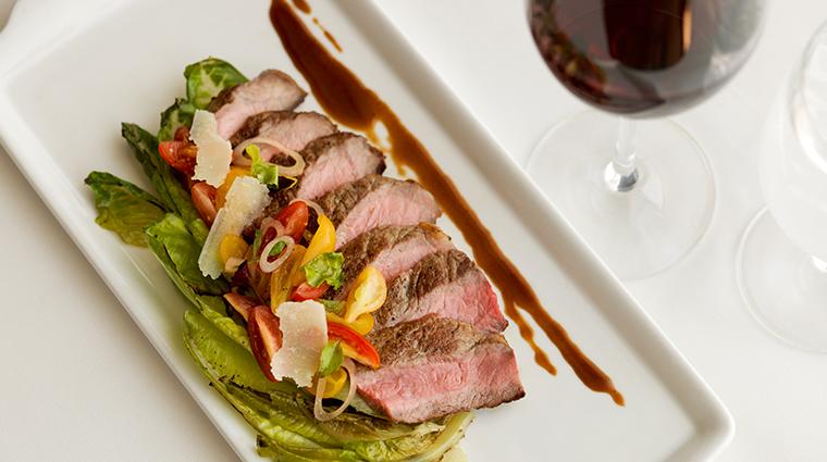 dining room at inn on biltmore estate meat