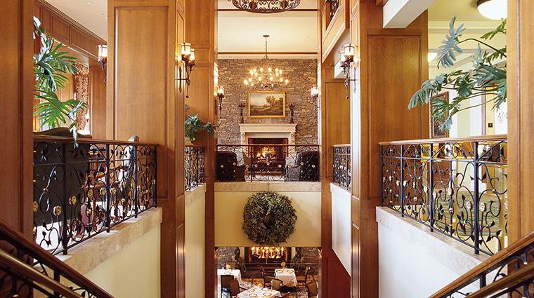 dining room at inn on biltmore estate